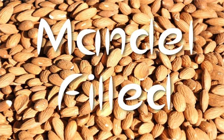 MandelFilled font by UpandIt