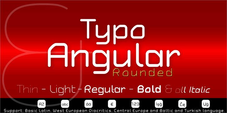Typo Angular Demo font by studiotypo
