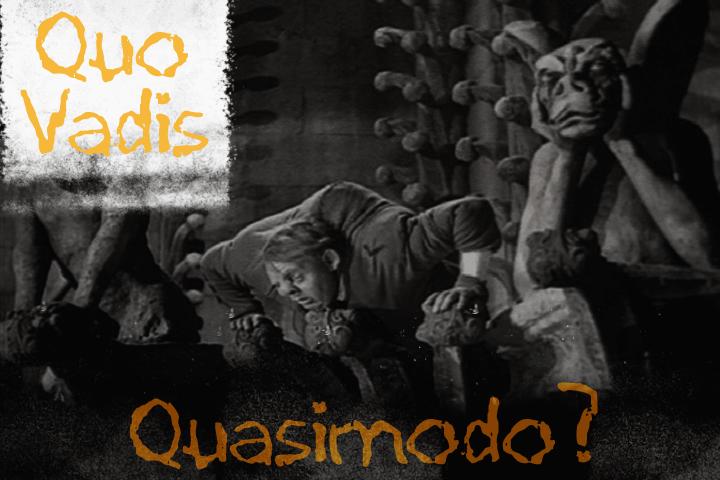 Quo Vadis Quasimodo font by David Kerkhoff