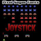 Joystick font by Pixel Sagas