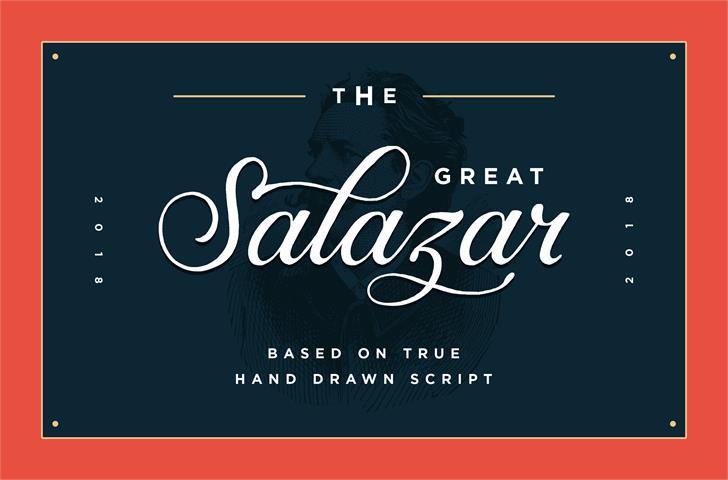Salazar DEMO font by Konstantine Studio