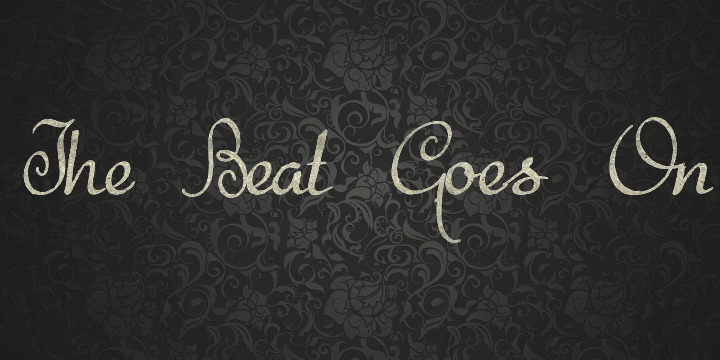 The Beat Goes On font by Intellecta Design