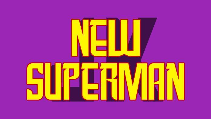 New SuperMan font by JK Typeface