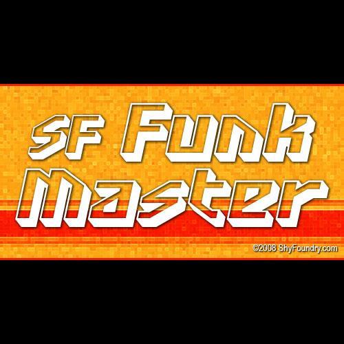 SF Funk Master font by ShyFoundry