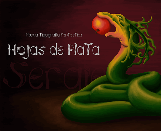 Hojas de plata font by José Tijerín