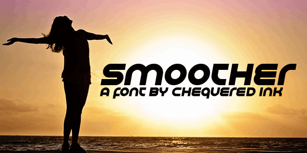 Smoother font by Chequered Ink