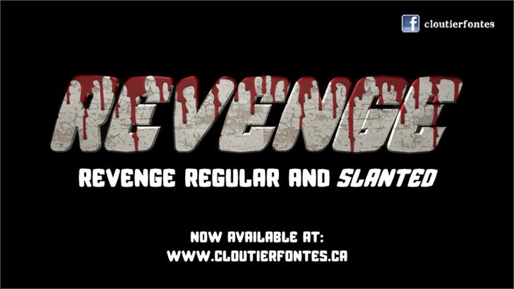 CF Revenge font by CloutierFontes