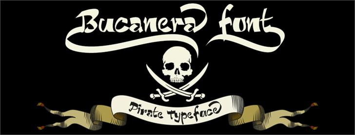 Bucanera font by deFharo