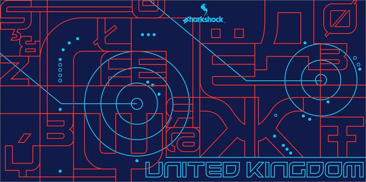 United Kingdom font by sharkshock