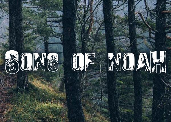 Sons of Noah font by Font Monger