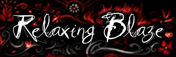 Vtks Relaxing Blaze font by VTKS DESIGN