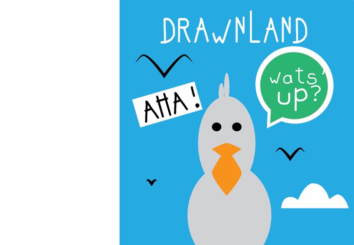 drawnland font by Cé - al
