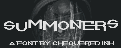 Summoners font by Chequered Ink