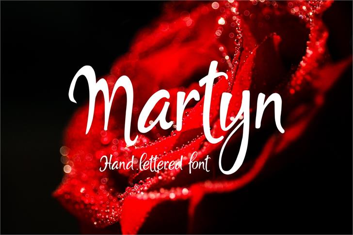 Martyn font by Eva Barabasne Olasz
