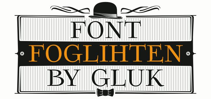 Foglihten font by gluk