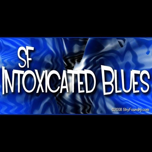 SF Intoxicated Blues font by ShyFoundry
