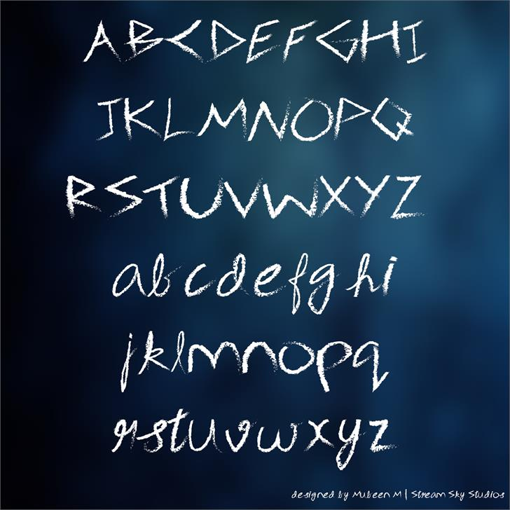 3M Spasynote font by Mubeen M
