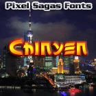 Chinyen font by Pixel Sagas