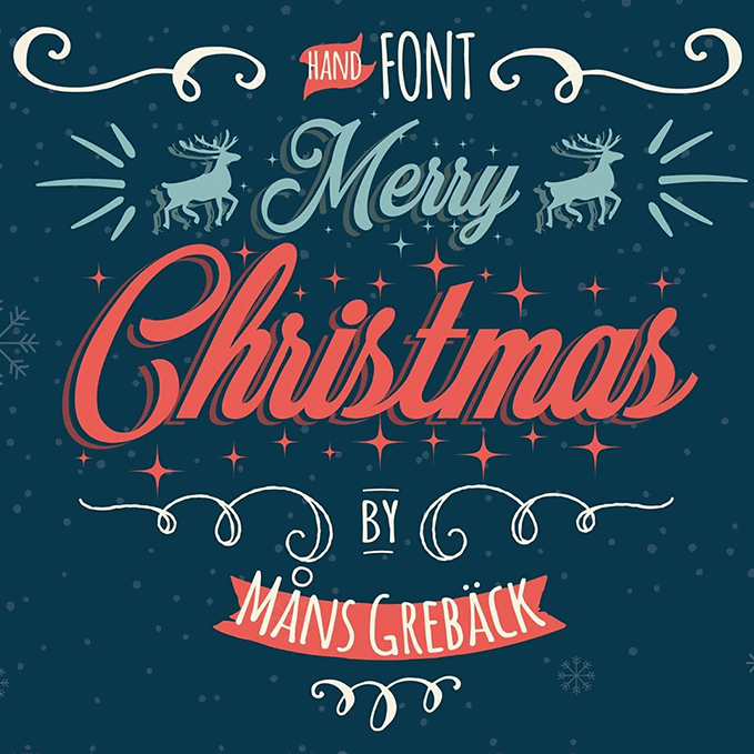 merry christmas font - Images For Merry Christmas