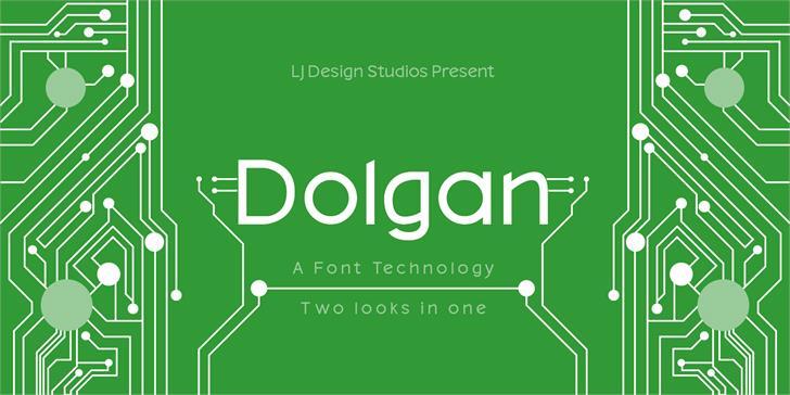 Dolgan font by LJ Design Studios