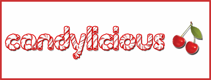 Candylicious font by Brian Kindle