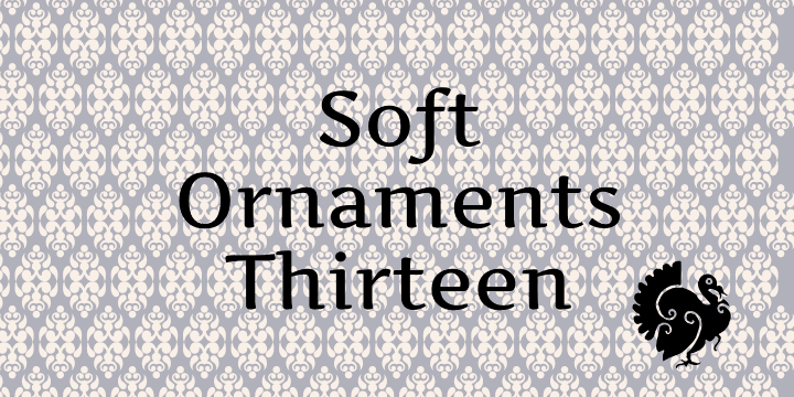 Soft Ornaments Thirteen font by Intellecta Design