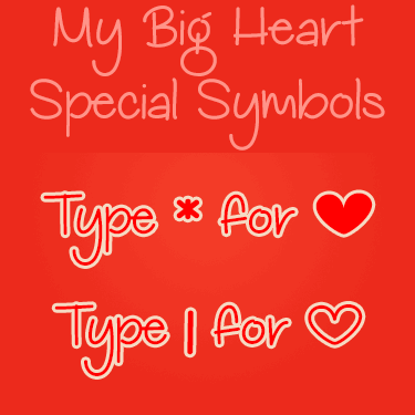 My Big Heart Demo font by Misti's Fonts
