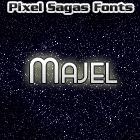 Majel font by Pixel Sagas