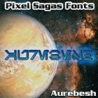 Aurebesh font by Pixel Sagas