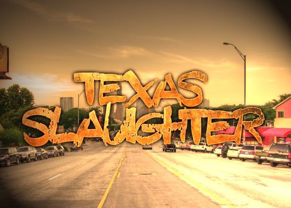 Texas Slaughter font by Font Monger