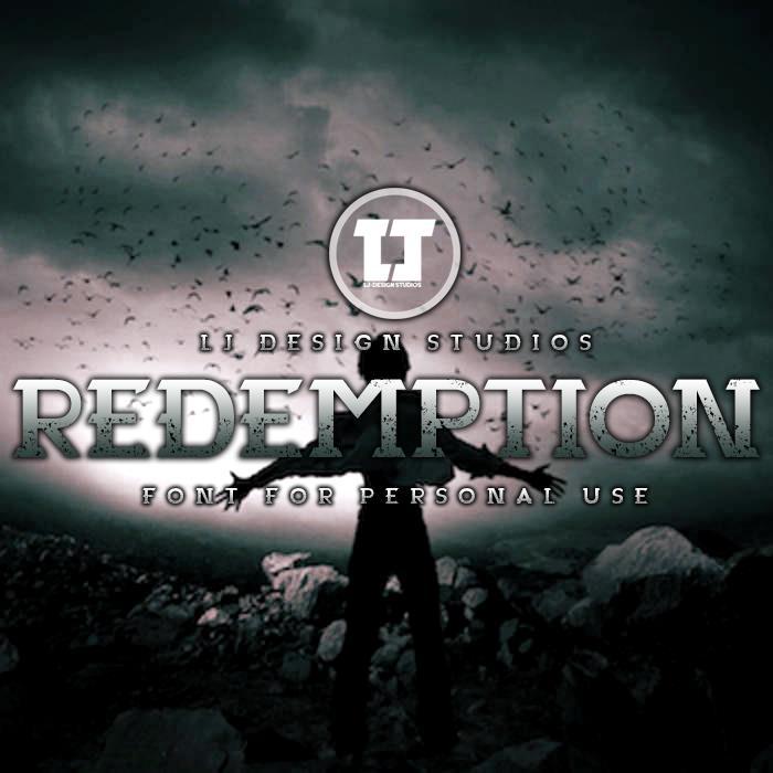 Redemption font by LJ Design Studios