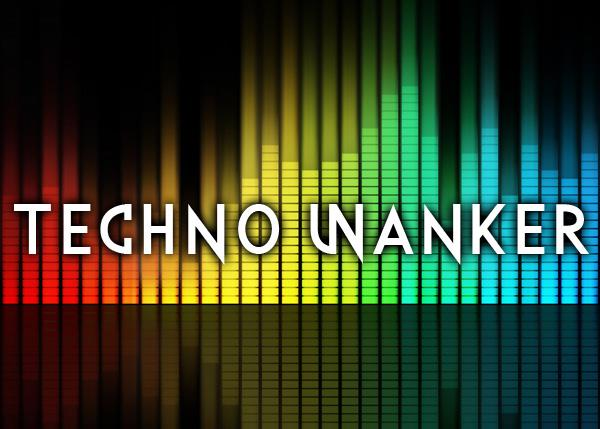 Techno Wanker font by Chris Vile