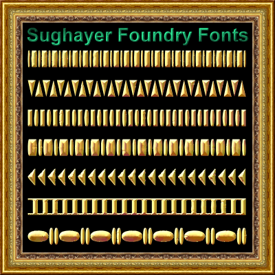 Vintage Borders_013 font by Sughayer Foundry