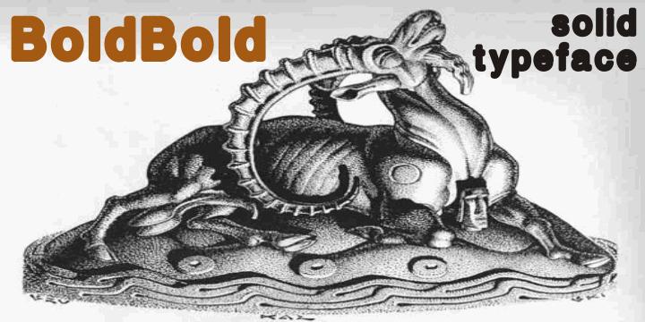 boldbold font by Intellecta Design
