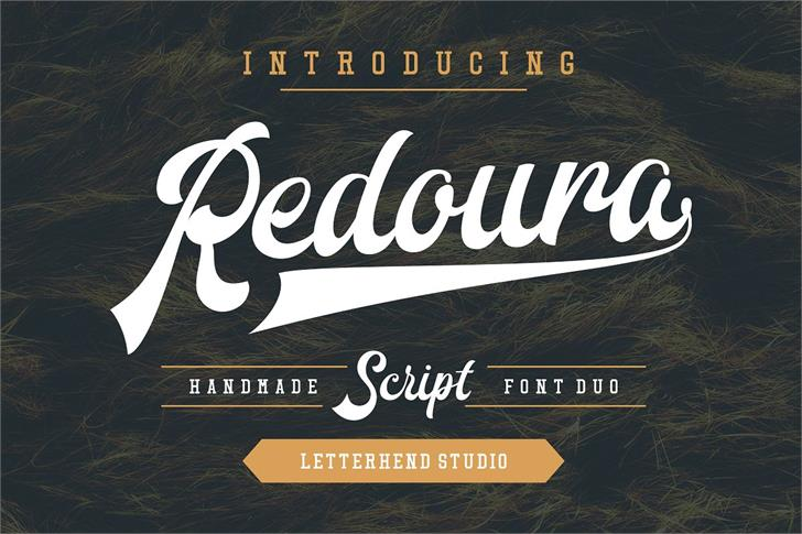Redoura DEMO font by Letterhend Studio