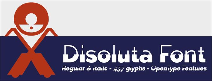 Disoluta font by deFharo