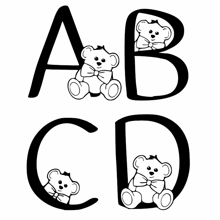 Ks Coppers Teddy Bears font by Pretty Little Line Designs