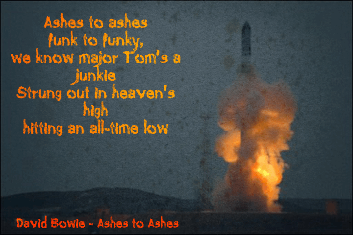 Ashes To Ashes font by David Kerkhoff