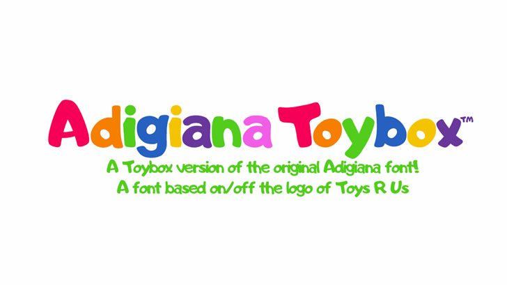Adigiana UI font by 538Fonts