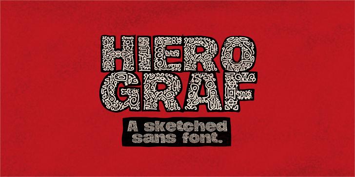 Hierograf PERSONAL USE font by Måns Grebäck