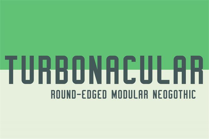 Turbonacular Demo font by Out Of Step Font Company