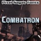 Combatron font by Pixel Sagas