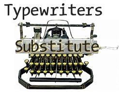 TypeWriters Substitute font by Manfred Klein