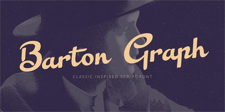 Barton Graph font by Nasir Udin