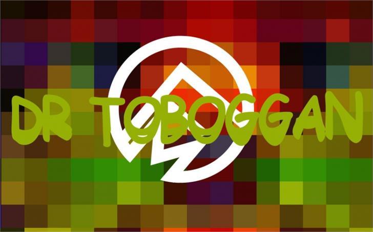 Dr Toboggan font by Font Monger
