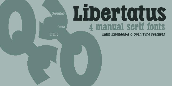 Libertatus font by deFharo
