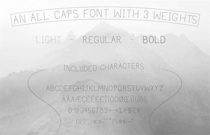 Philippine font by Valentin François