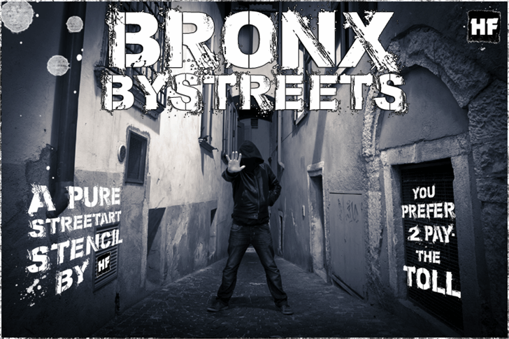Bronx Bystreets font by Herofonts