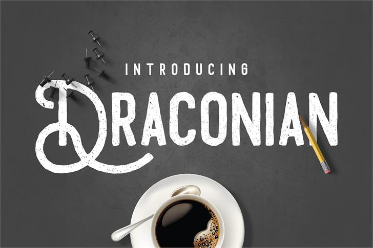 Draconian font by madeDeduk