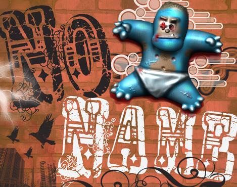 VTKS No Name font by VTKS DESIGN